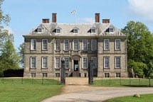 External view of Stanford Hall