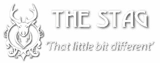 The Stag Logo Word marque and strap line