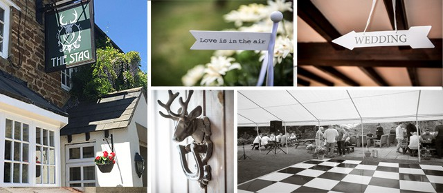 The Stag Maidwell Wedding Venue Montage
