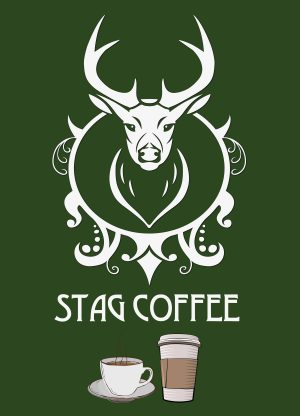 The Stag Coffee Logo